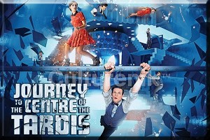 Fridge Magnet: Journey to the Center of the TARDIS
