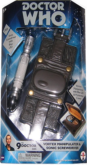 Vortex Manipulator and LED Sonic Screwdriver