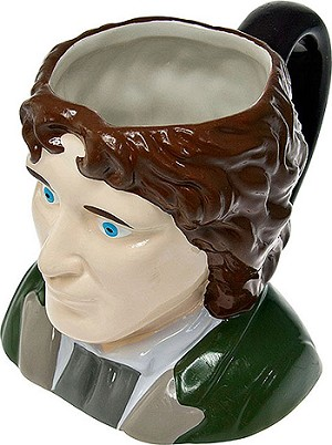 Ceramic 3D Mug: 8th Doctor