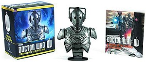 Cyberman Mini Bust and Illustrated Book