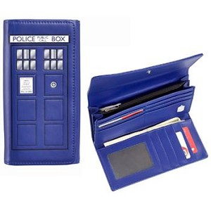 Large TARDIS Purse/Wallet (Snap Cover)