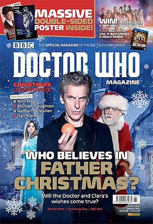 Doctor Who Magazine, Issue 481