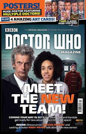 Doctor Who Magazine, Issue 502