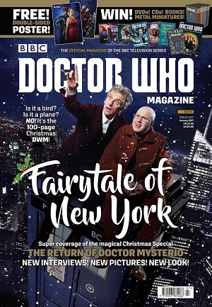 Doctor Who Magazine, Issue 507