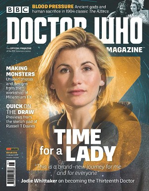 Doctor Who Magazine, Issue 516