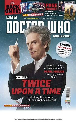 Doctor Who Magazine, Issue 520