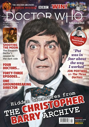 Doctor Who Magazine, Issue 541
