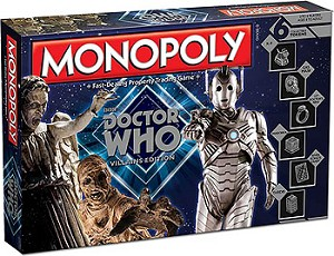 Doctor Who Monopoly: Villains Edition