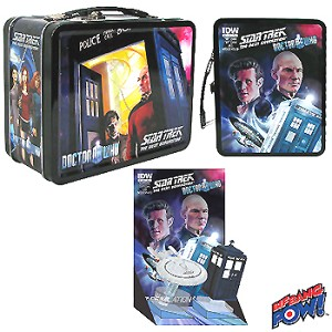 Doctor Who/Star Trek: TNG Tin Tote with Monitor Mates