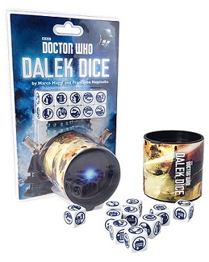 Doctor Who: Dalek Dice Game