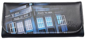 "Doctor Who Purse/Wallet TARDIS ""Gradient"""