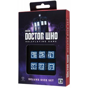 Doctor Who Roleplaying Game Deluxe Dice Set