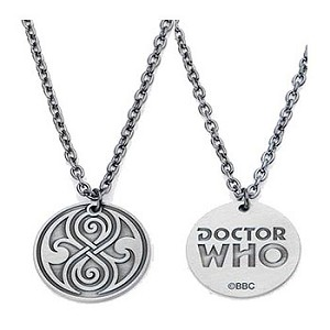 Doctor Who Seal of Rassilon Necklace