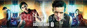 Doctor Who Poster Runner: 11th Doctor, Clara