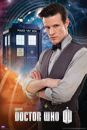 Doctor Who Poster: Matt Smith 11th Doctor