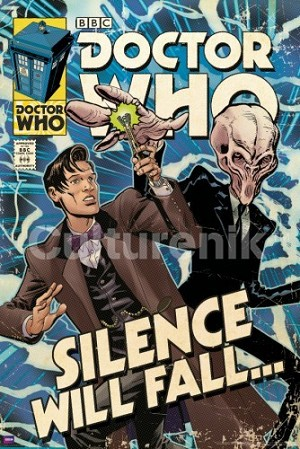 Doctor Who Poster: Silence Will Fall