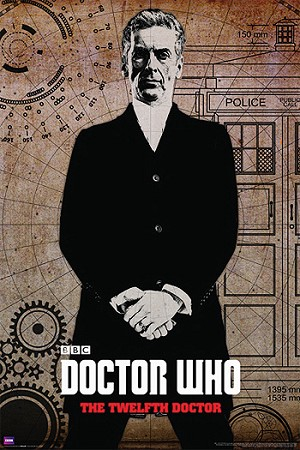 Doctor Who Poster: Peter Capaldi, the Twelfth Doctor