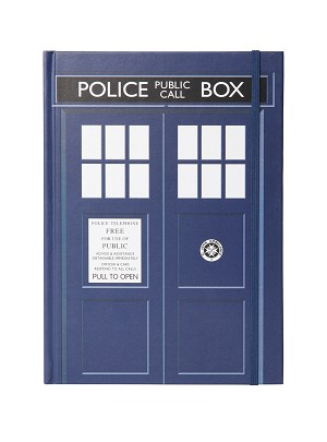Journal: Doctor Who TARDIS (Elastic Banded)