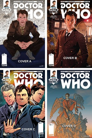 Doctor Who Comic: Tenth Doctor, Year 3, Issue 05