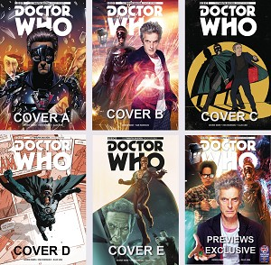 Doctor Who Comic: Twelfth Doctor, Ghost Stories, Issue 1