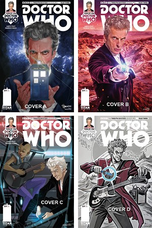 Doctor Who Comic: Twelfth Doctor, Year 3, Issue 4