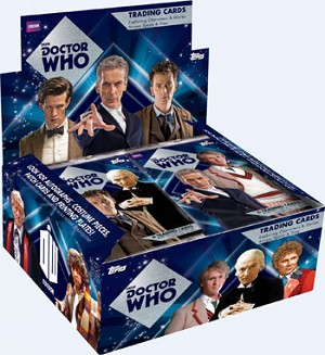 Topps Doctor Who Trading Cards Pack (6 Cards)