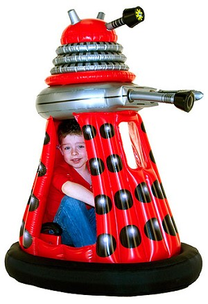 Zappies Ride-A-Dalek, Red Dalek Drone