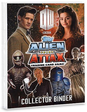 Doctor Who Alien Attax Starter Kit