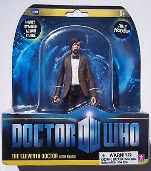 "5"" Eleventh Doctor with Beard"
