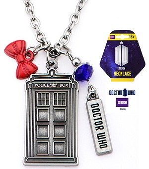 Doctor Who Multi Charm Pendant Necklace