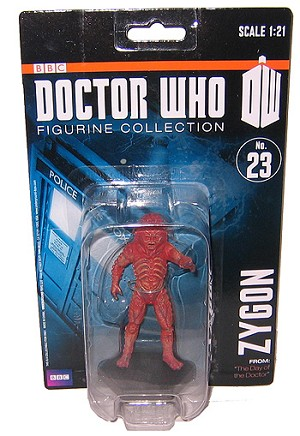 Eaglemoss 1:21 (#23) Zygon Figure