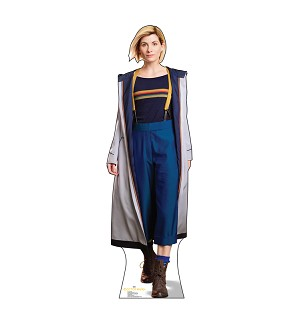 Standee: 13th Doctor, Jodie Whittaker (Shipping Included in Price) - CONTINENTAL USA ONLY