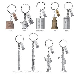 Doctor Who Mystery Keychain, Wave 1