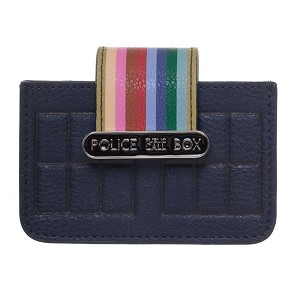 TARDIS 13th Doctor Flap Accordion Credit Card Wallet