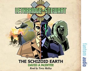 AudioBook: Lethbridge-Stewart, The Schizoid Earth (Autographed)