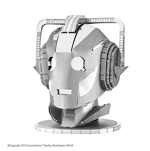 Metal Earth Cyberman Head Laser Cut Metal Model Kit