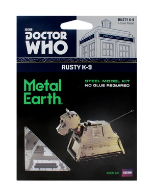 Metal Earth Rusty K-9 Laser Cut Metal Model Kit