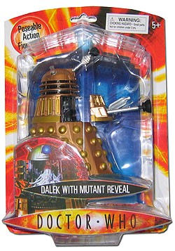 "5"" Mutant Reveal Dalek Figure (Non-Mint Packaging)"