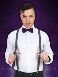 Doctor Who Eleventh Doctor's Purple Suspenders