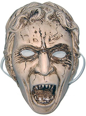 Doctor Who Mask: Screaming Angel