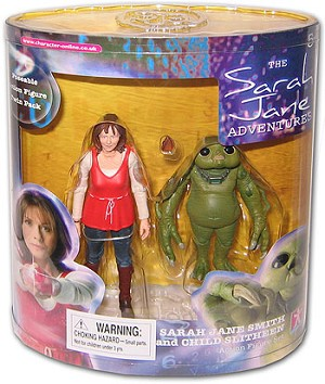 "5"" Sarah Jane and Child Slitheen"