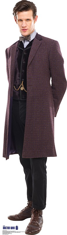 Standee: 11th Doctor, Coat (Shipping Included in Price) - CONTINENTAL USA ONLY