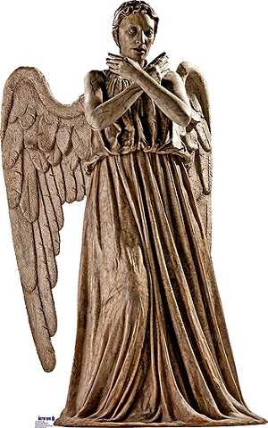 Standee: Weeping Angel (Shipping Included in Price) - CONTINENTAL USA ONLY