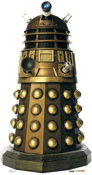 Standee: Dalek Caan (Shipping Included in Price) - CONTINENTAL USA ONLY