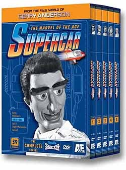Supercar DVD (Complete Series)