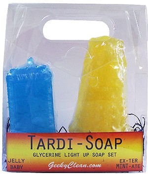 TARDI-Soap Dalek and TARDIS Soap Set