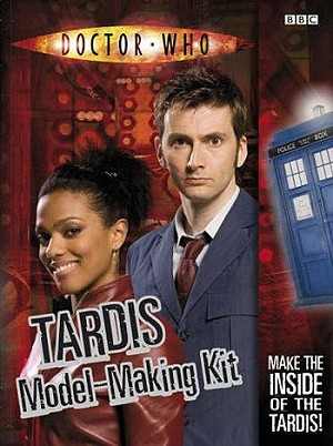 Doctor Who 3-D TARDIS Interior Model-Making Kit