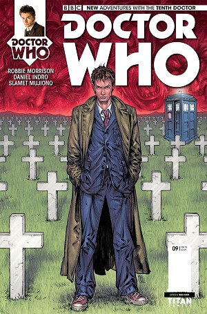 Doctor Who Comic: Tenth Doctor, Issue 09