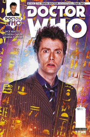 Doctor Who Comic: Tenth Doctor, Year 2, Issue 12