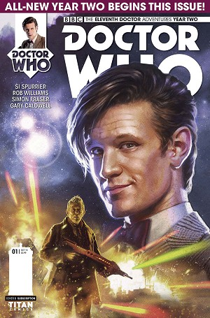 Doctor Who Comic: Eleventh Doctor, Year 2, Issue 01